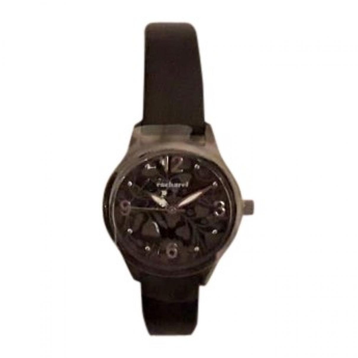 Cacharel \N Uhr in  Schwarz Stahl