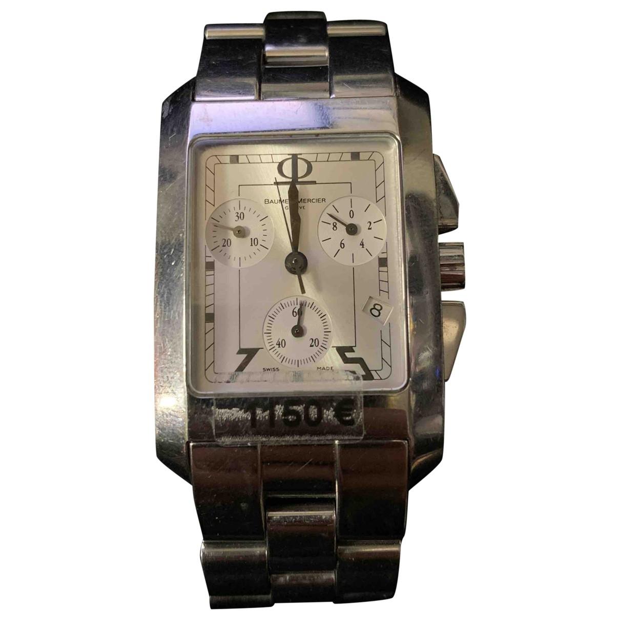 Baume Et Mercier \N Uhr in  Silber Stahl