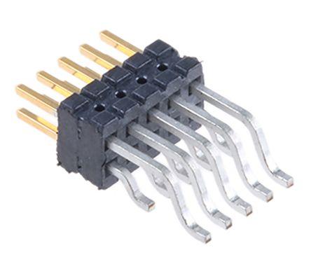 Samtec , FTSH, 10 Way, 2 Row, Right Angle Pin Header