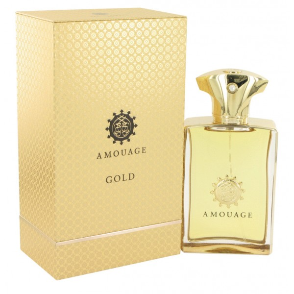 Amouage - Gold Man : Eau de Parfum Spray 3.4 Oz / 100 ml