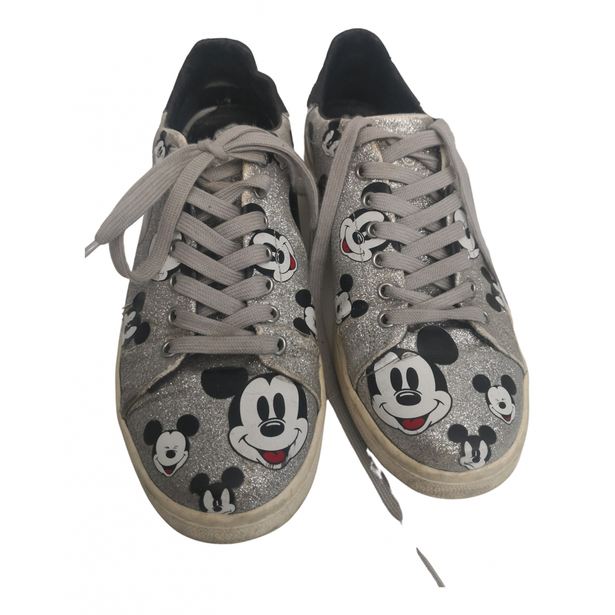 Moa Master Of Arts N Silver Glitter Trainers for Women 38 IT