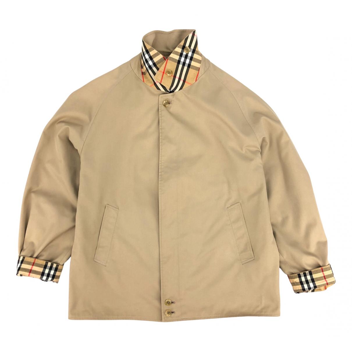 Burberry \N Beige Cotton jacket  for Men XL International