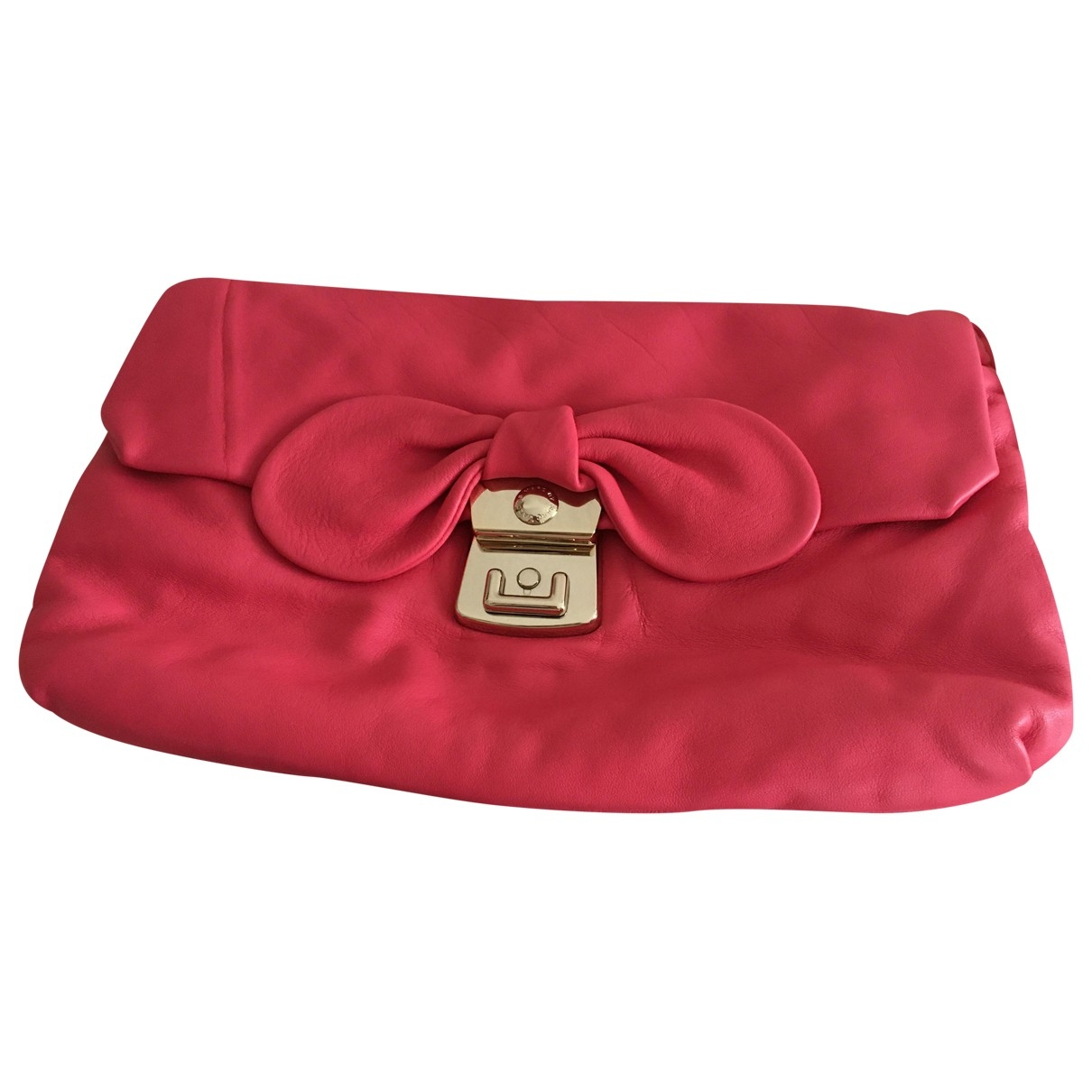 Marc By Marc Jacobs \N Pink Leather handbag for Women \N