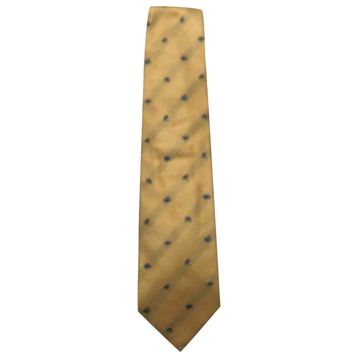 Kenzo \N Yellow Silk Ties for Men \N