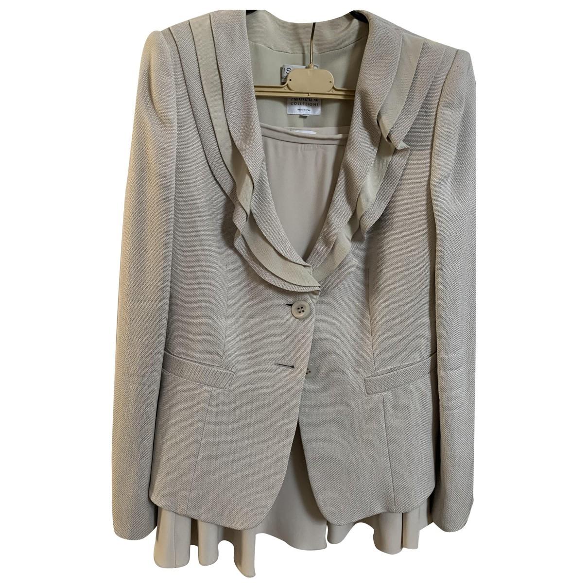 Armani Collezioni \N Ecru jacket for Women 44 IT
