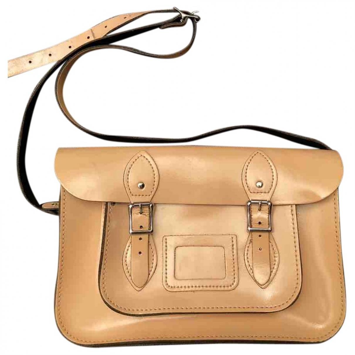 Leather Satchel Company - Sac a main   pour femme en cuir - rose