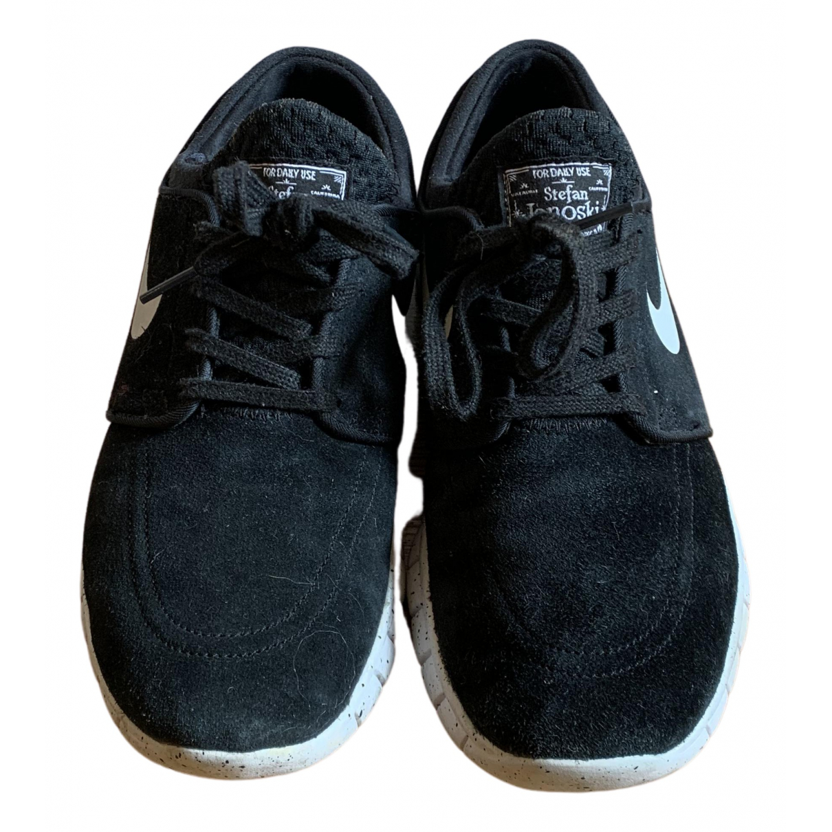 Nike Air Max  Black Leather Trainers for Men 40 EU