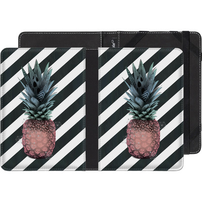 Sony Reader PRS-T1 eBook Reader Huelle - Pink Pineapple von Victoria Topping
