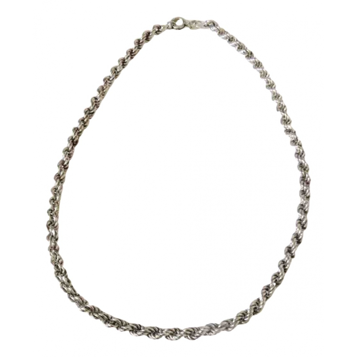 Non Signe / Unsigned Chaines Kette in  Silber Silber