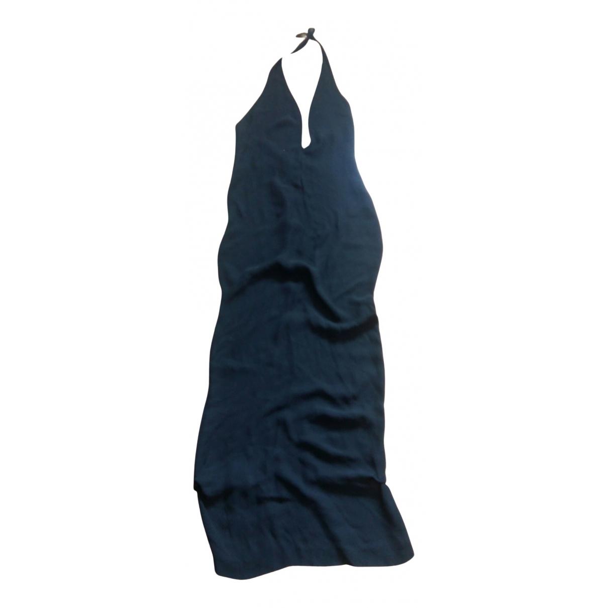 Costume National \N Kleid in  Schwarz Viskose