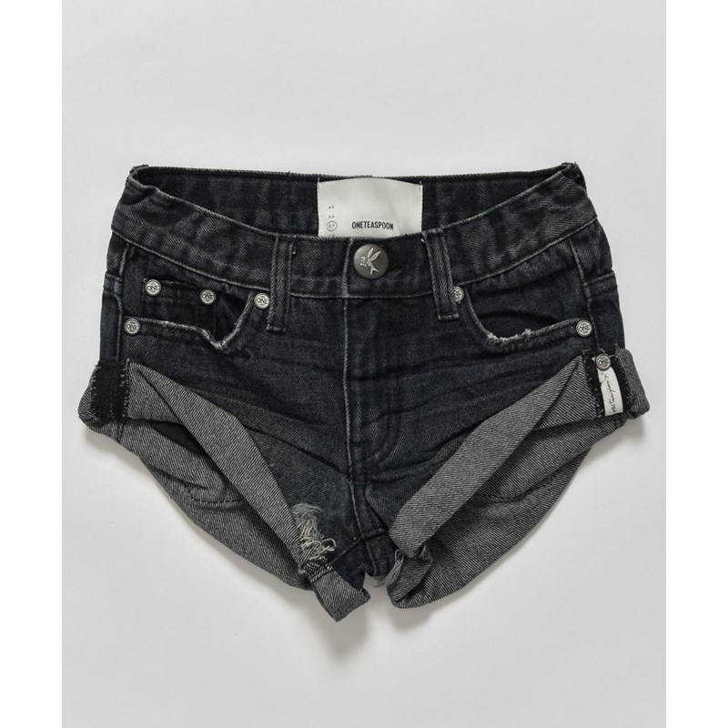 KIDS FOX BLACK BANDITS DENIM SHORT