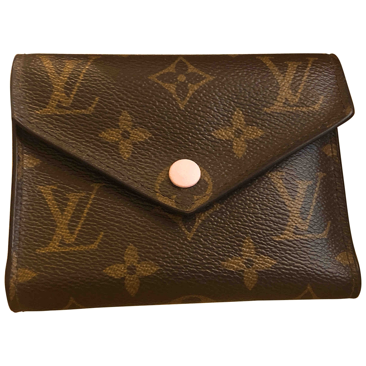 Louis Vuitton Victorine Brown Cloth wallet for Women \N