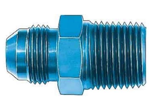 Aeroquip FCM2001 Universal St Alum #4flare/1/8in Pipe