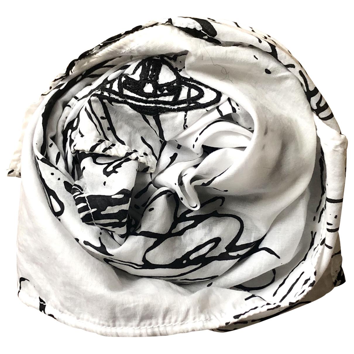 Vivienne Westwood \N Tuecher, Schal in  Weiss Baumwolle