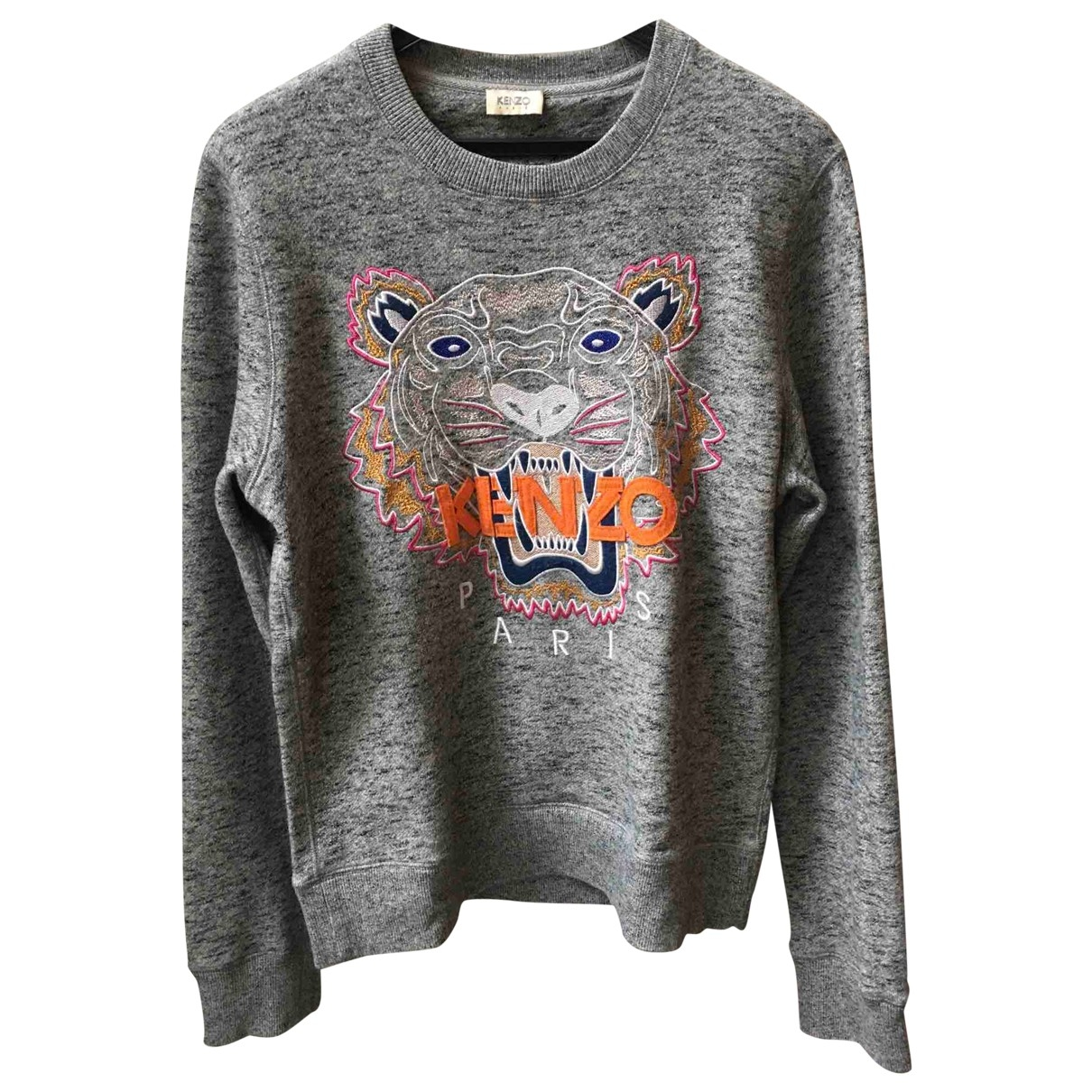 Kenzo \N Grey Cotton Knitwear & Sweatshirts for Men S International