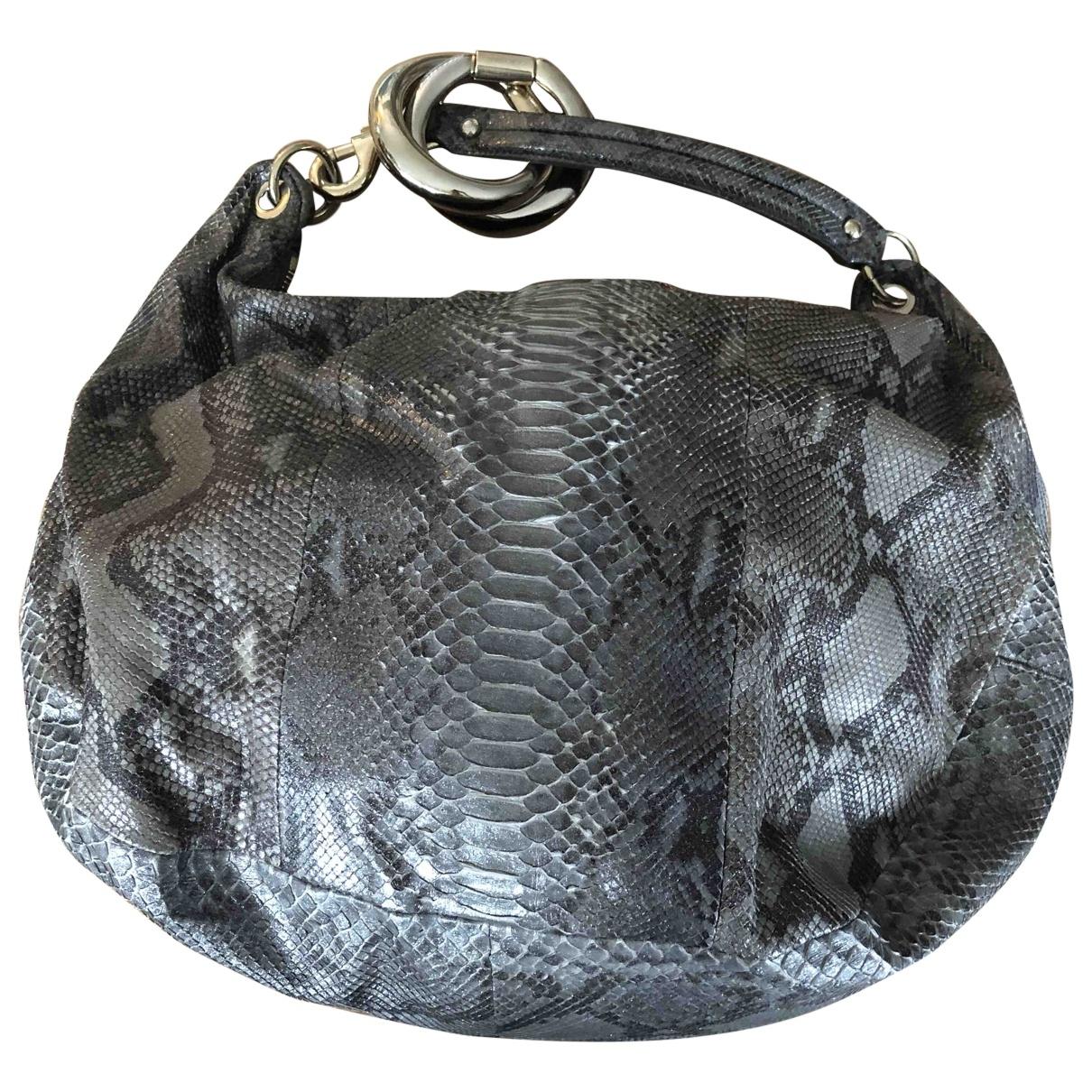 Jimmy Choo \N Silver Python handbag for Women \N