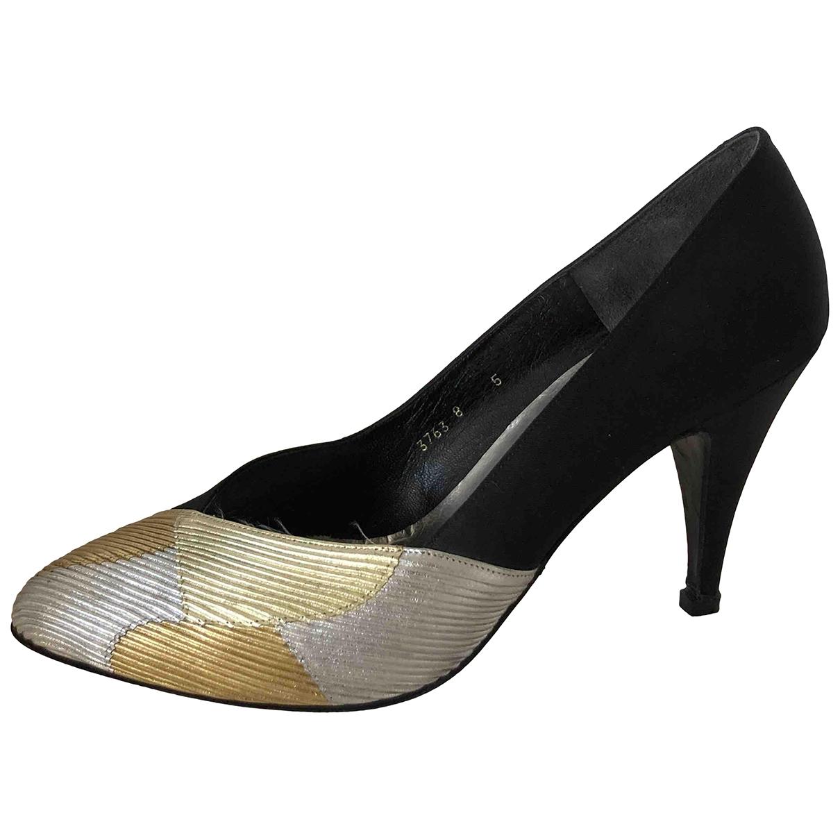 Lanvin - Escarpins   pour femme en toile - noir