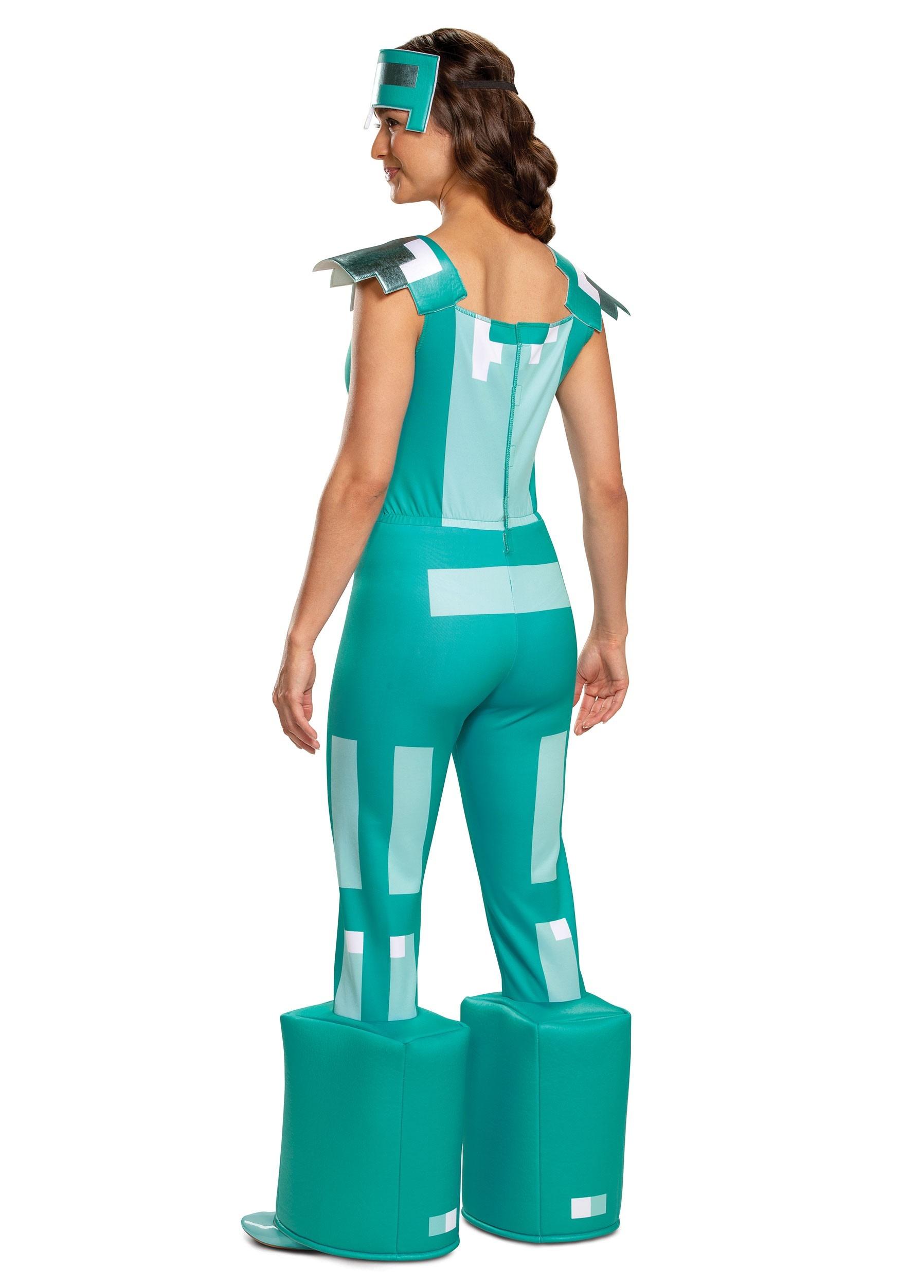 Minecraft Female Armor Costume