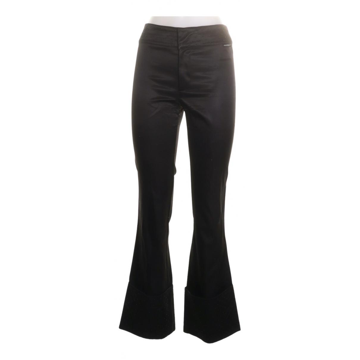 Gianfranco Ferré \N Black Trousers for Women 40 IT