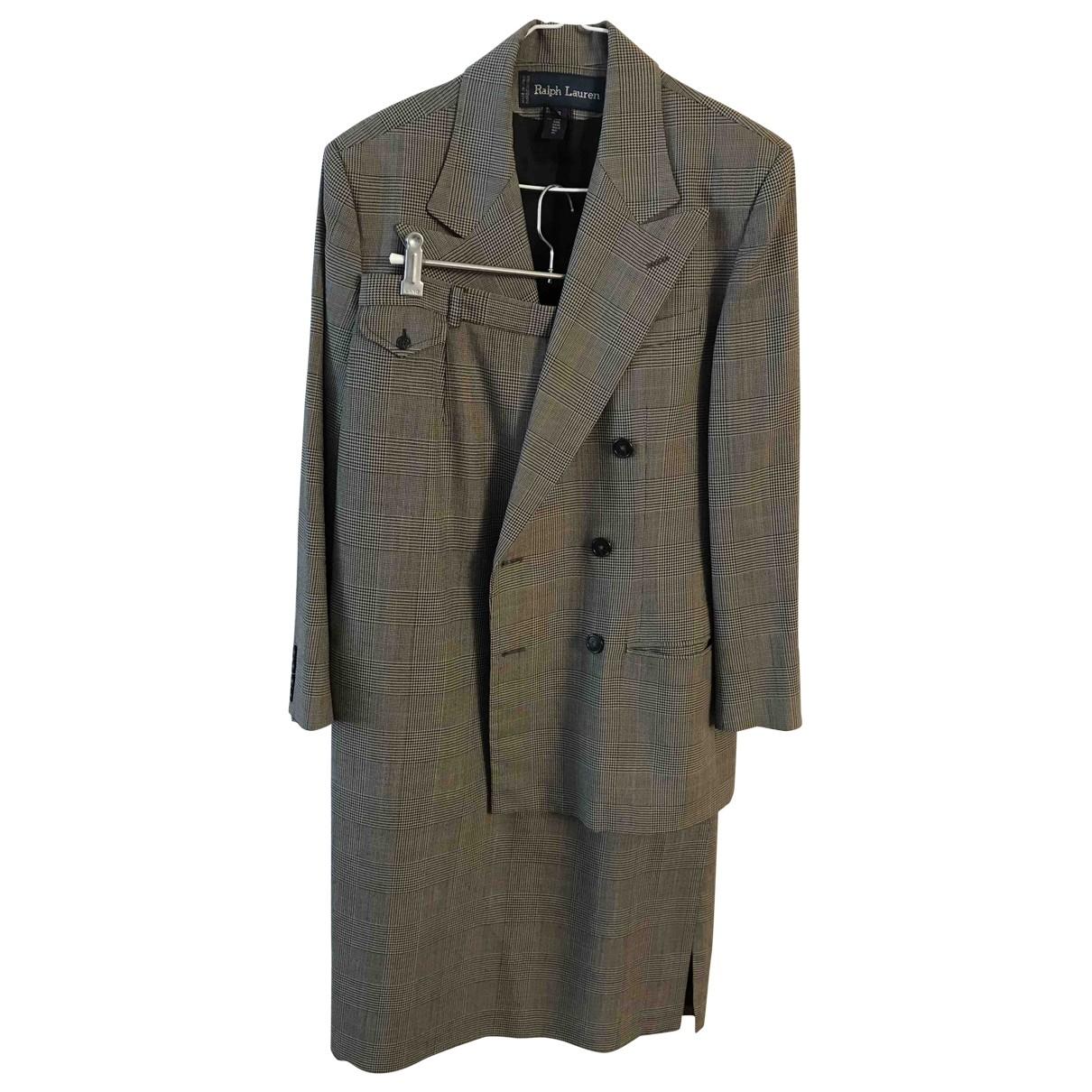 Ralph Lauren - Veste   pour femme en laine - gris