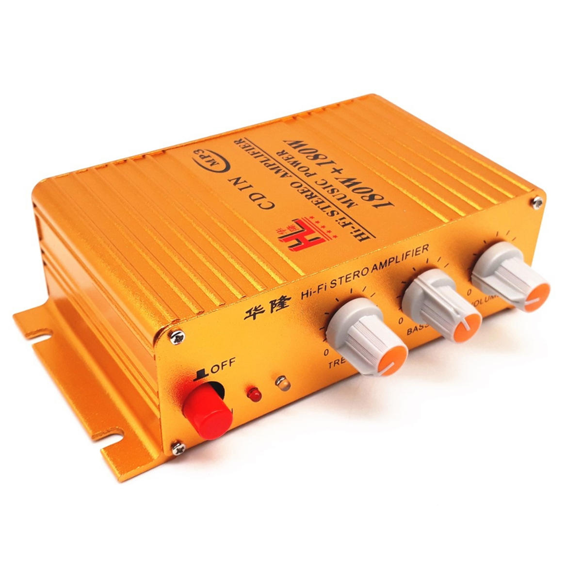12V Input Car Mini HIFI Digital bluetooth Power Amplifier Car Amplifier