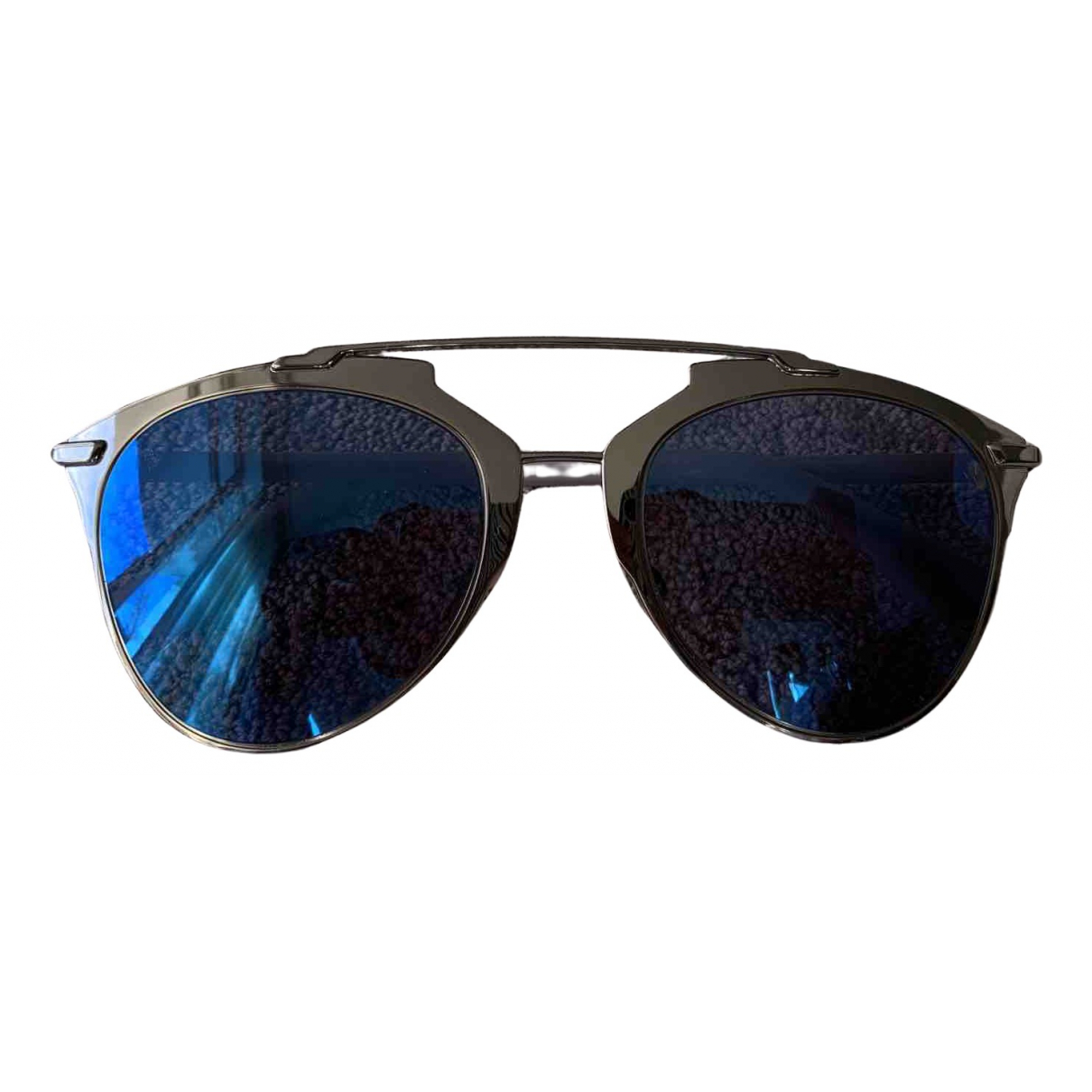 Dior Reflected Blue Metal Sunglasses for Women N