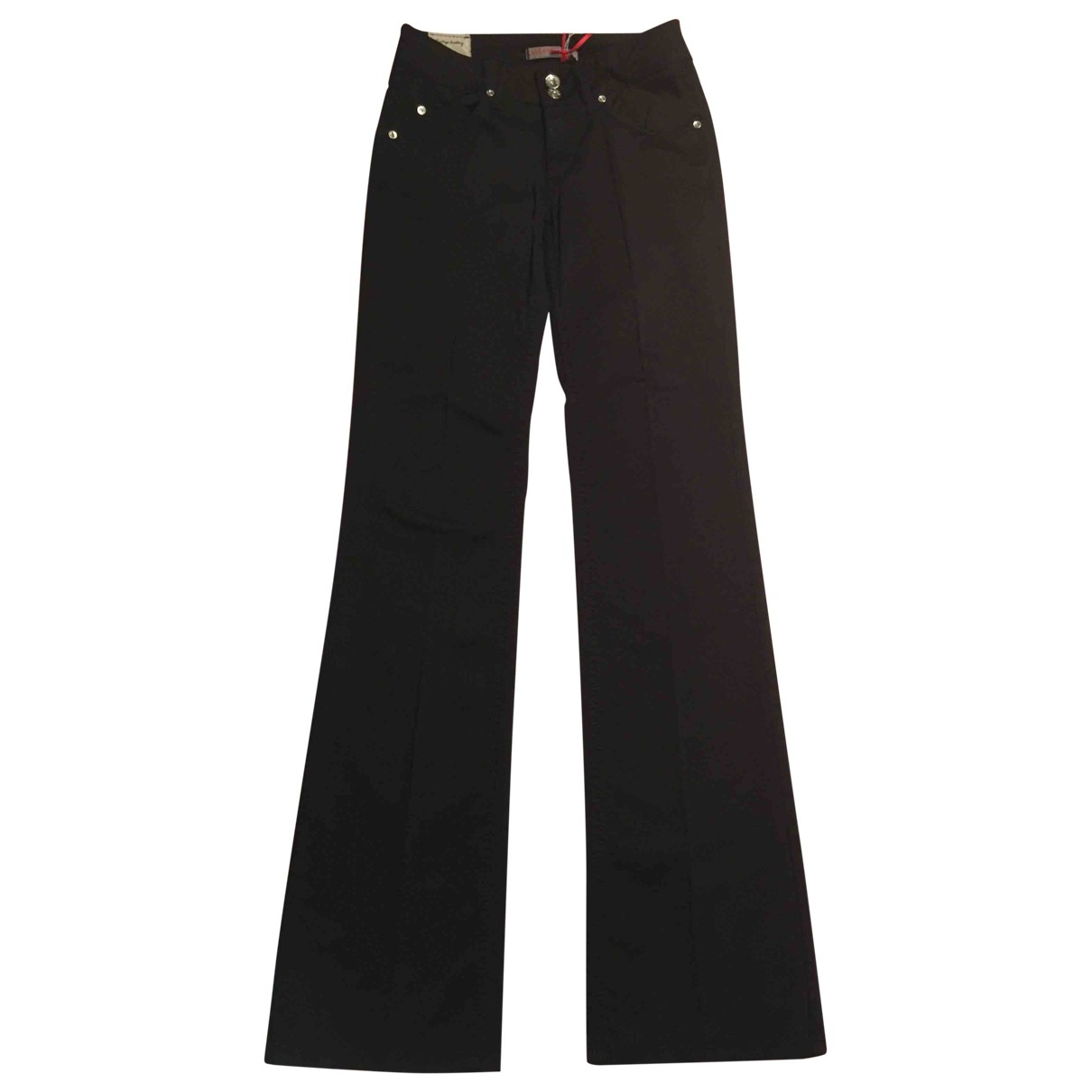 Liu.jo \N Black Cotton - elasthane Jeans for Women 26 US