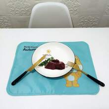 Cartoon Bear Print Placemat