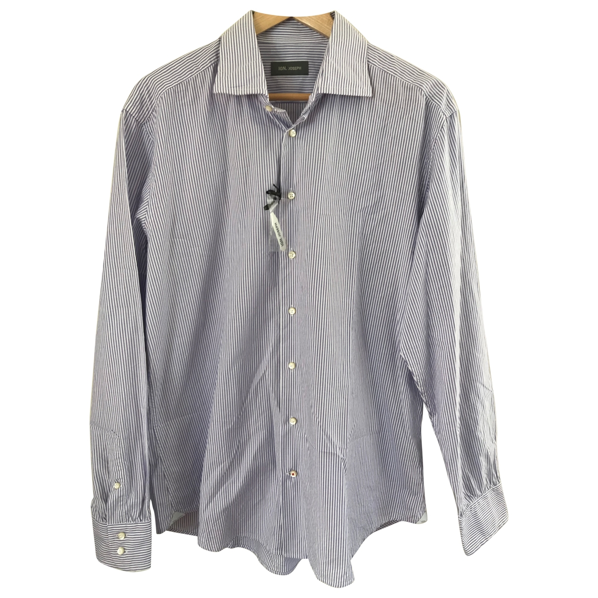 Non Signe / Unsigned \N Hemden in  Lila Baumwolle