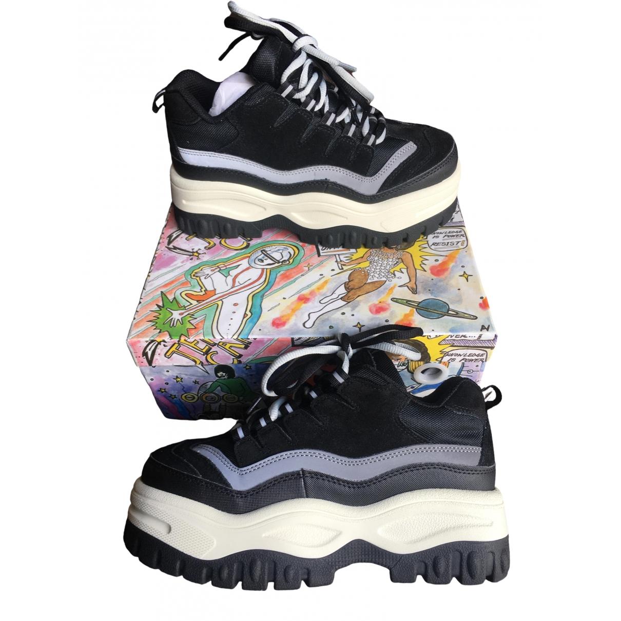 Jeffrey Campbell \N Sneakers in  Schwarz Veloursleder