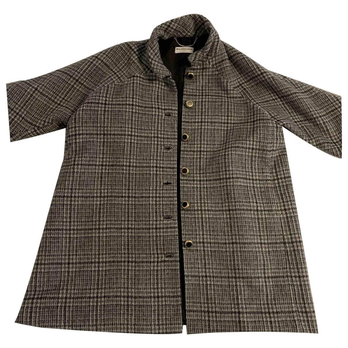 Balenciaga \N Maentel in Wolle