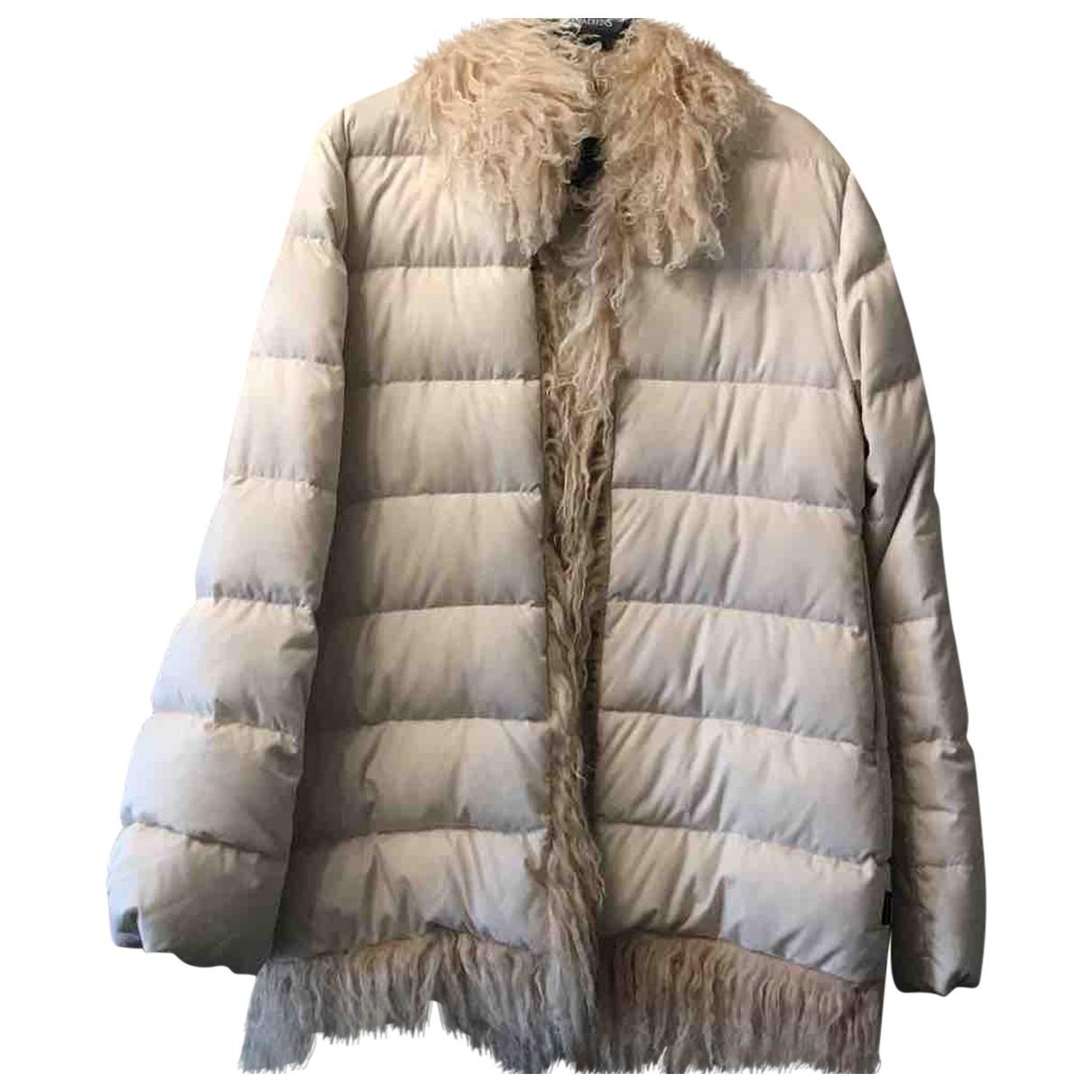 Moncler \N Ecru coat for Women 2 0-5