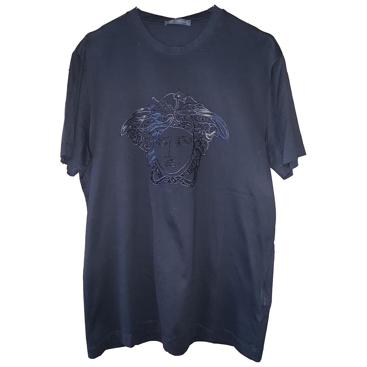 Versace \N Black Cotton T-shirts for Men M International