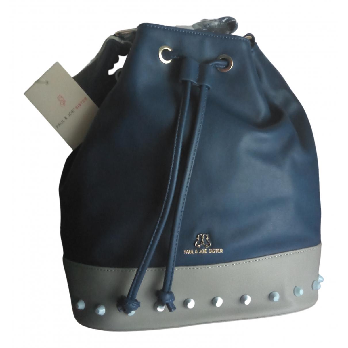 Paul & Joe Sister \N Handtasche in  Blau Synthetik