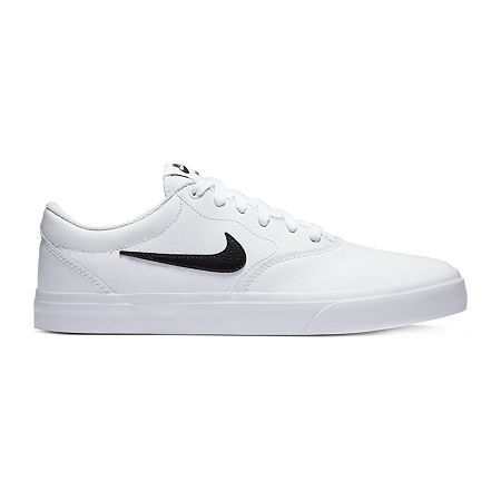 Nike SB Charge Prm Mens Skate Shoes, 11 Medium, White