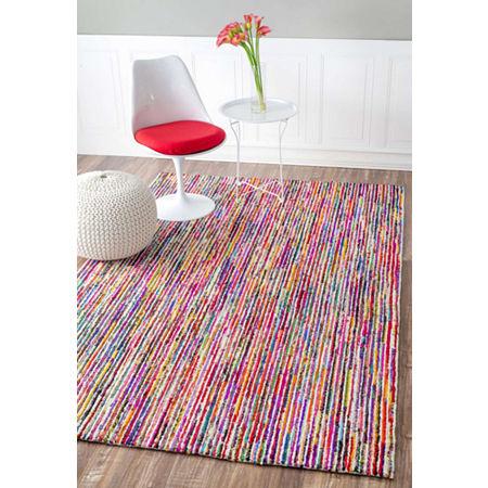nuLoom Hand Tufted Stripes Tillery Rug, One Size , Multiple Colors
