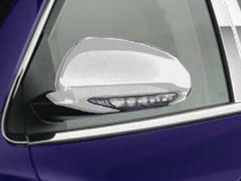 Quality Automotive Accessories Mirror Cover Set With Turn Signal Cut Out Buick Enclave SUV 2018