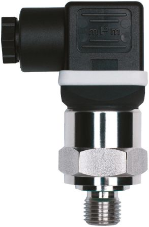 Jumo Pressure Sensor for Hydraulic Fluid, Pneumatic Fluid , 4bar Max Pressure Reading