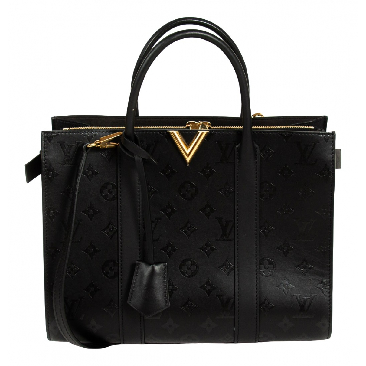Louis Vuitton Very Black Leather handbag for Women \N