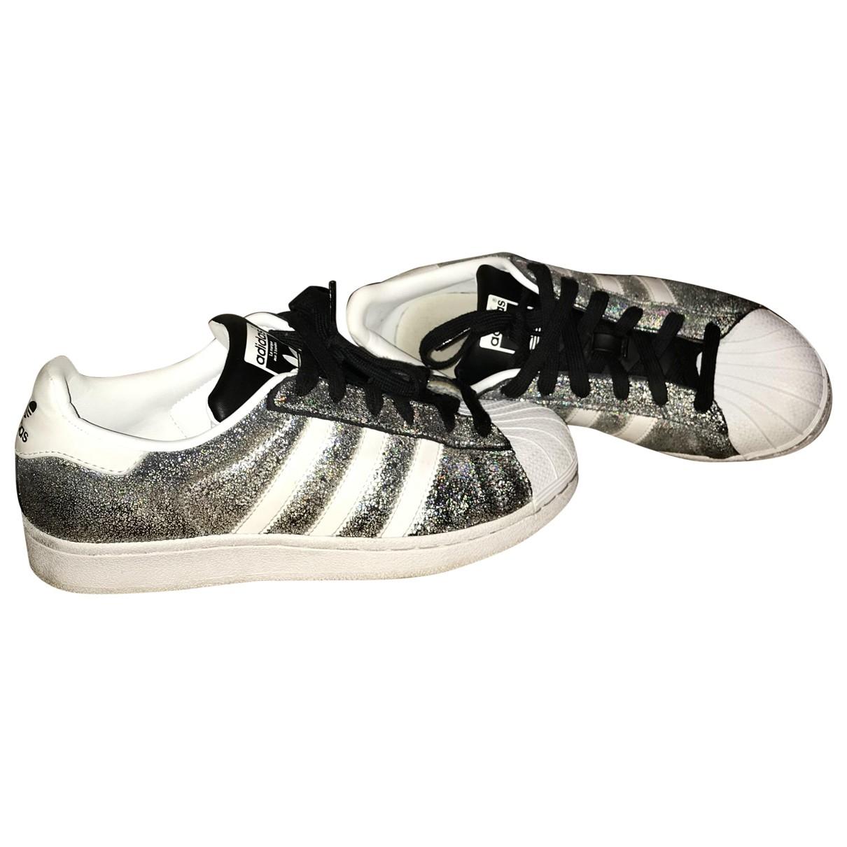 Adidas Superstar Metallic Trainers for Women 39.5 EU