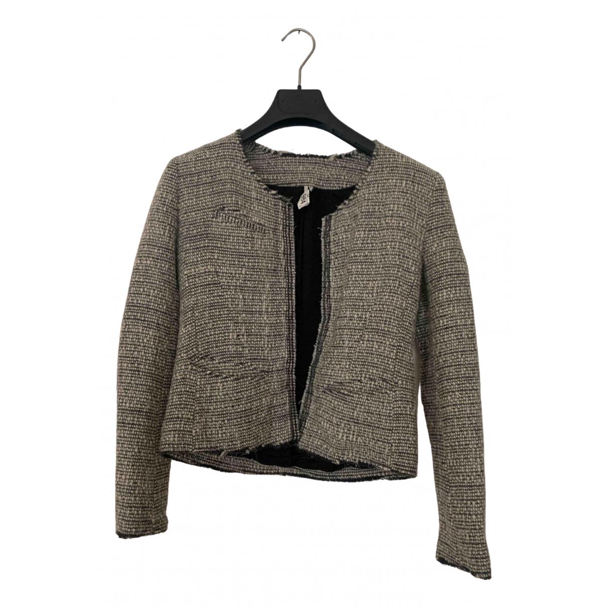 Iro - Veste   pour femme en laine - gris