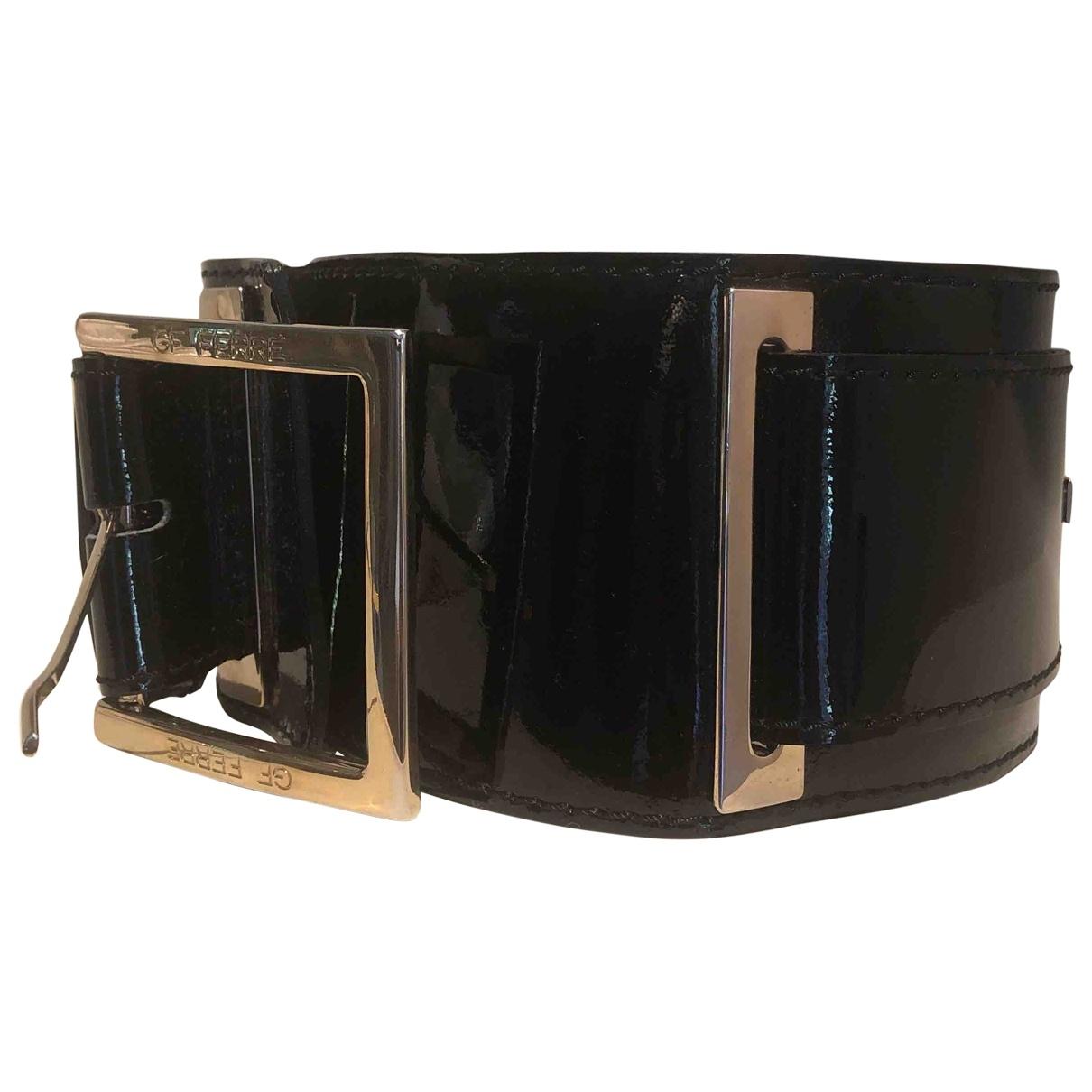 Gianfranco Ferré \N Black Patent leather belt for Women 75 cm