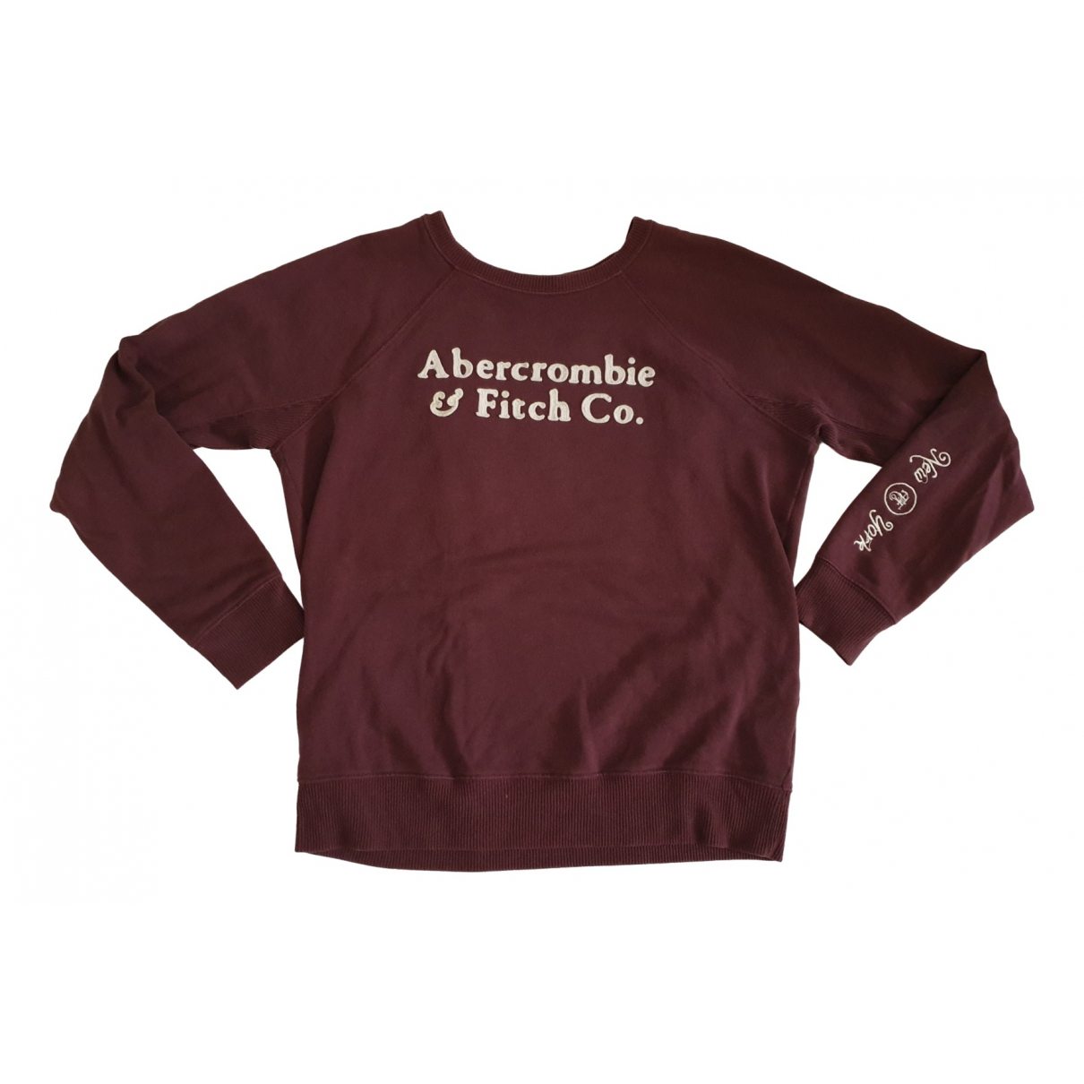 Abercrombie & Fitch N Burgundy Cotton Knitwear for Women M International