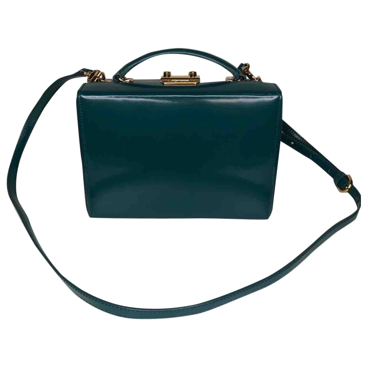 Mark Cross \N Turquoise Leather handbag for Women \N