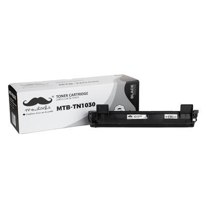 Compatible Brother DCP-1612W cartouche de toner noire de Moustache