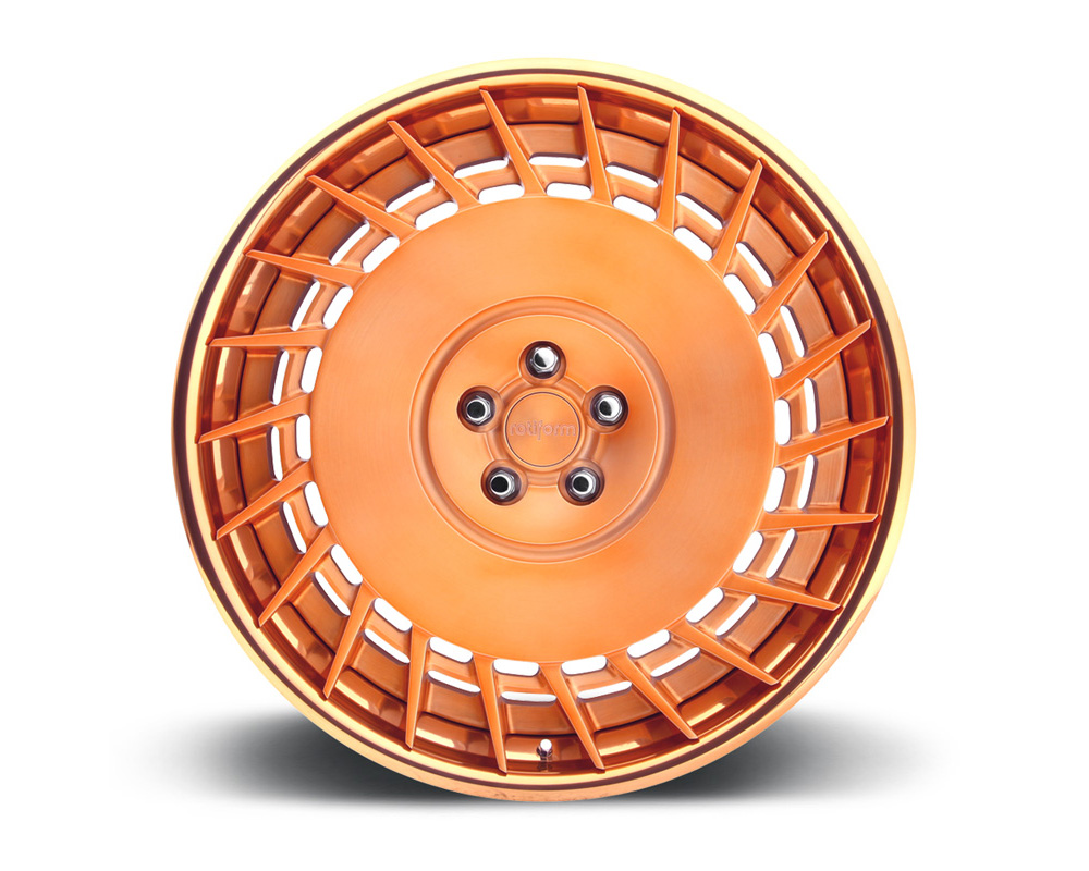 Rotiform CBU-3PCFORGED-FLAT CBU 3-Piece Forged Flat/Convex Center Wheels