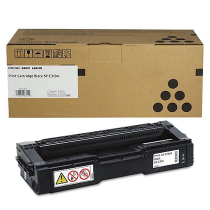 Ricoh 406475 Original Black Toner Cartridge High Yield