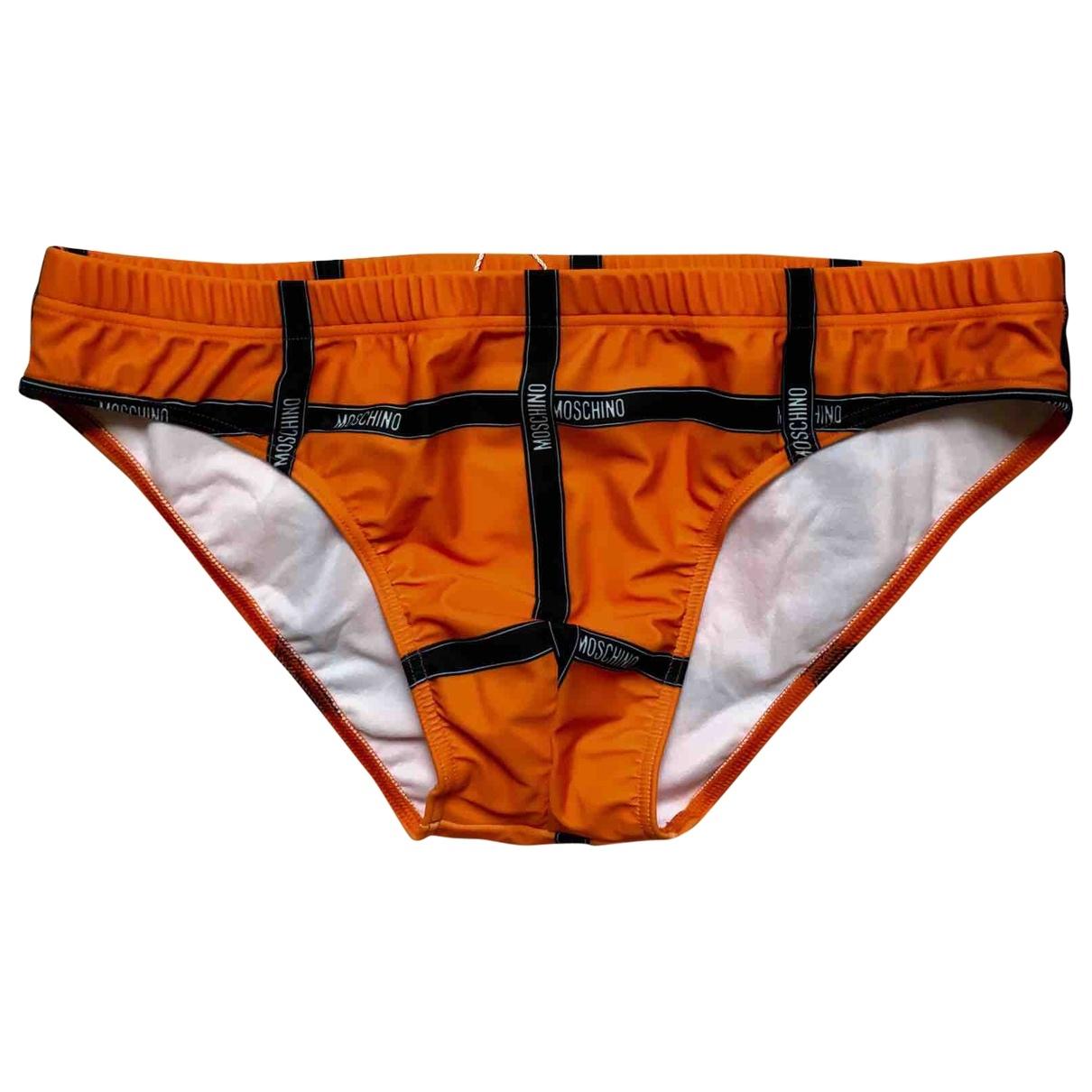 Moschino \N Badeanzug in  Orange Polyester
