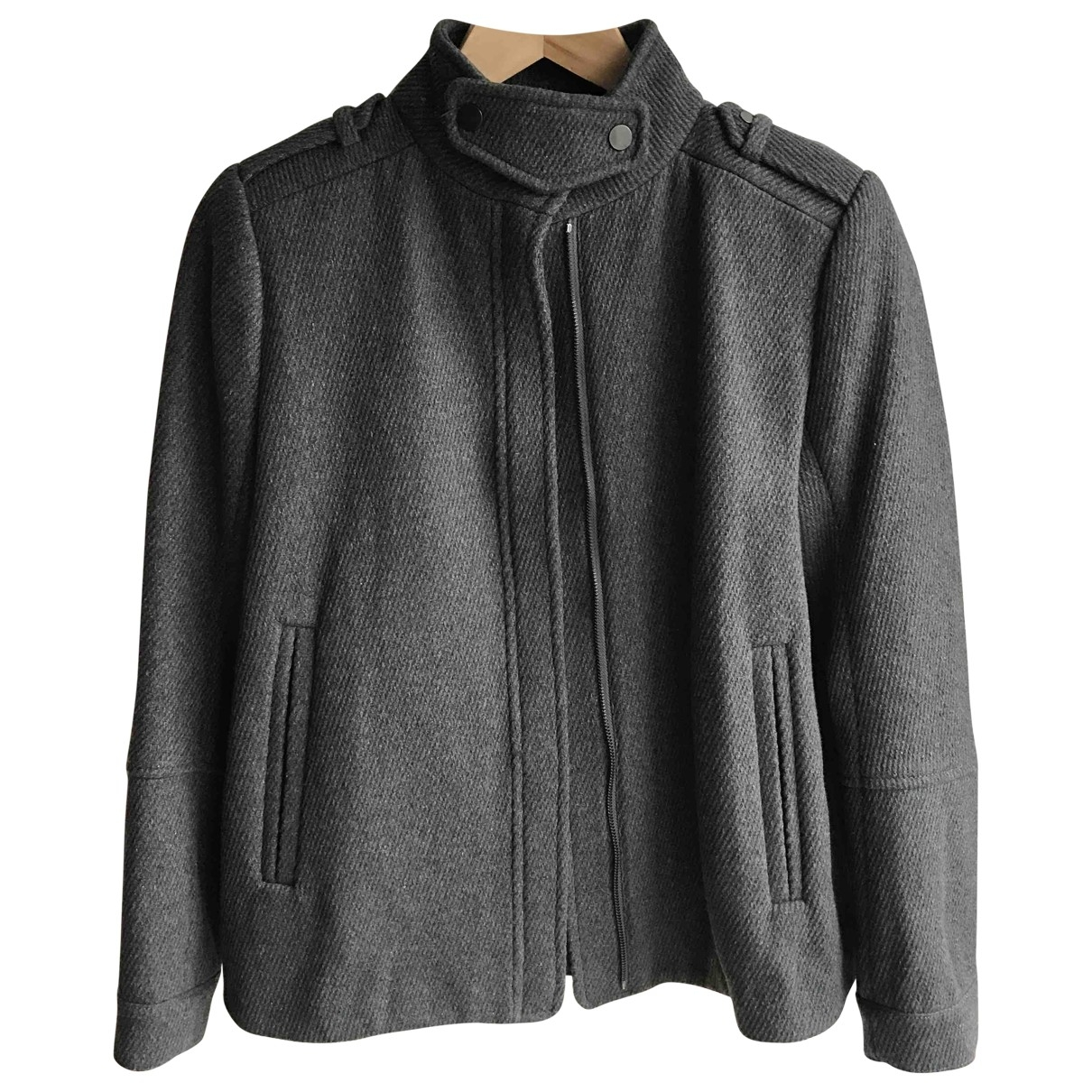 Vince \N Grey Wool jacket for Women 0 0-5