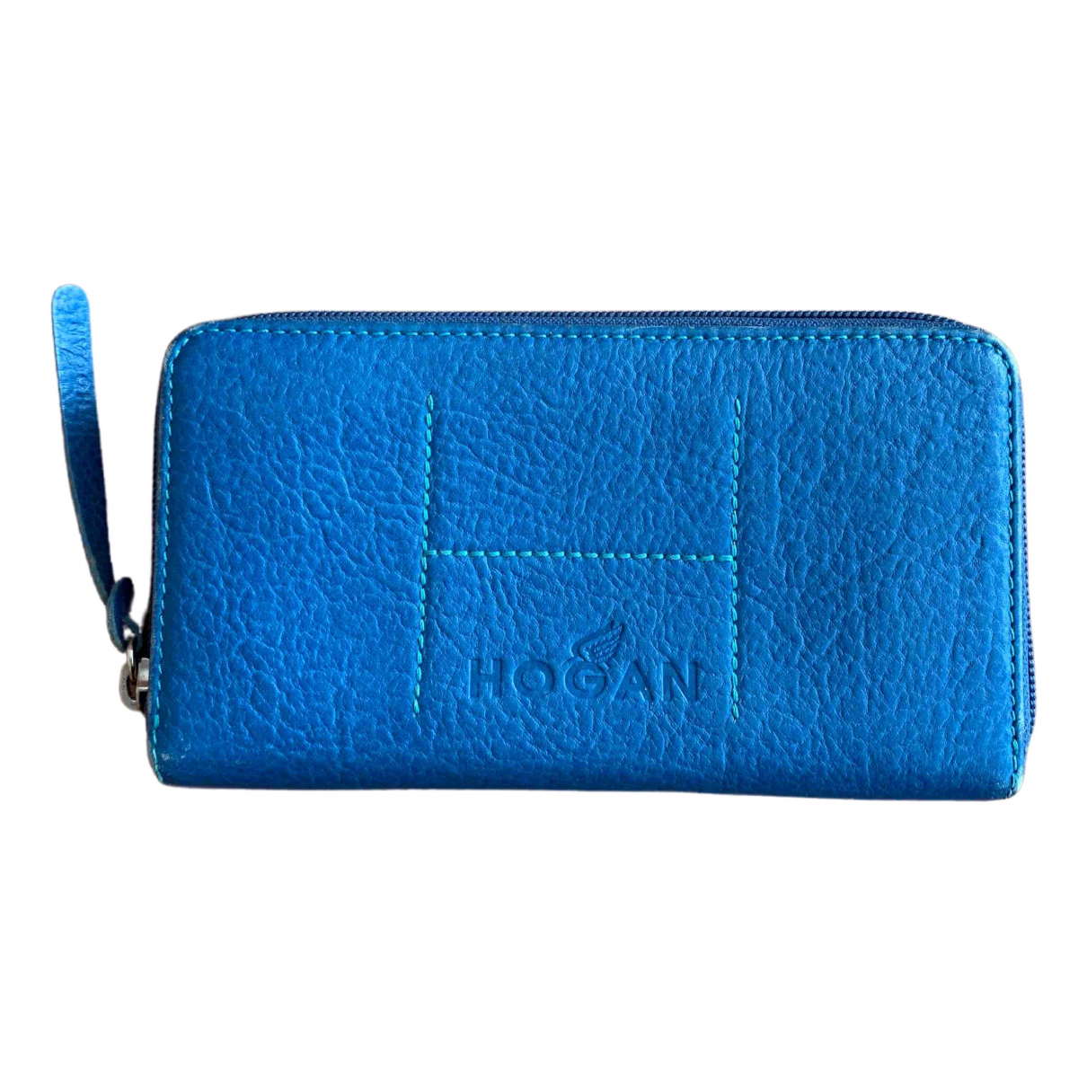 Hogan \N Turquoise Leather wallet for Women \N
